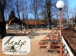 Biergarten an der Malge in Brandenburg Havel